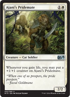 Ajani's Pridemate [M15]