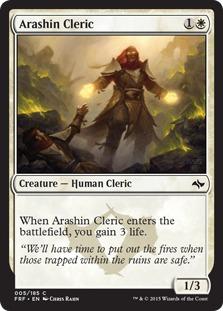 Arashin Cleric [FRF]