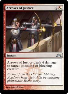 Arrows of Justice [GTC]