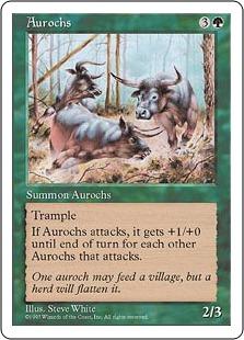 Aurochs Fifth Edition 5ed Price History