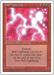 Ball Lightning [4ED]