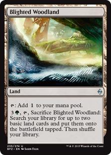 Blighted Woodland [BFZ]