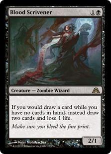 Blood Scrivener [DGM]