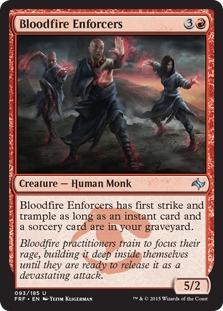 Bloodfire Enforcers [FRF]