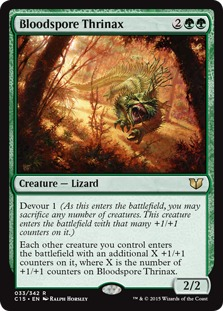 TEMPT WITH DISCOVERY NM mtg Commander 2013 Green Sorcery Rare