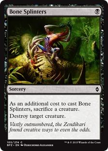 Bone Splinters [BFZ]