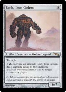 Bosh, Iron Golem [MRD]