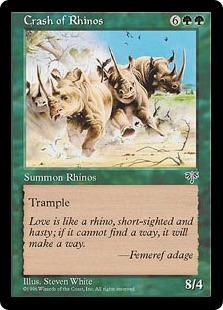 Crash of Rhinos [MI]