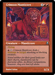 Crimson Manticore [ME3]