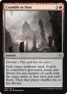 Crumble to Dust [BFZ]