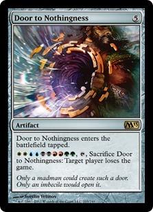 Door to Nothingness [M13]