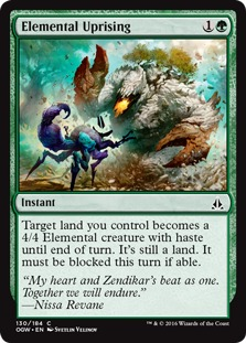 Elemental Uprising [OGW]