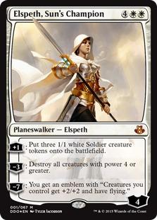 Elspeth, Sun's Champion [DDO] (F)
