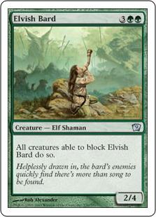 Elvish Bard [9ED]