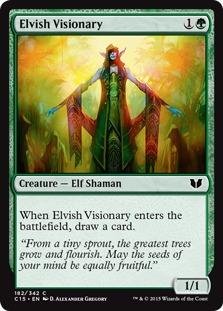 Elvish Visionary [C15]