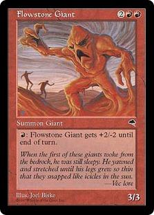 Flowstone Giant [TE]