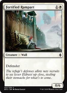 Fortified Rampart [BFZ]