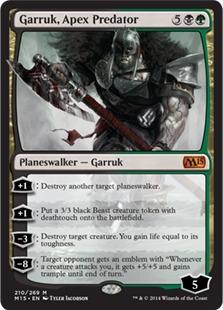 Garruk, Apex Predator [M15]