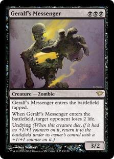 Geralf's Messenger [DKA]