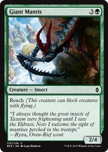Giant Mantis [BFZ]