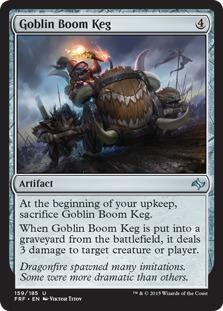 Goblin Boom Keg [FRF]