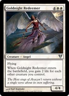 Goldnight Redeemer [AVR]