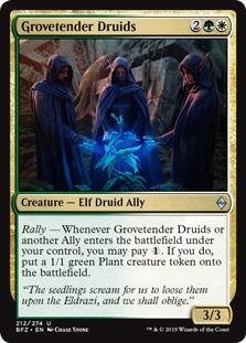 Grovetender Druids [BFZ]