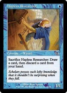 Hapless Researcher [JUD]