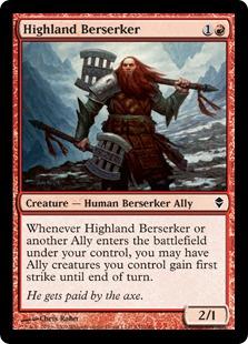 Highland Berserker [ZEN]