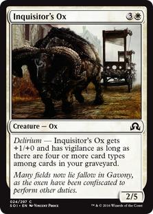 Inquisitor's Ox [SOI]