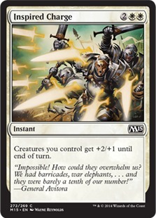 Inspired Charge [M15]