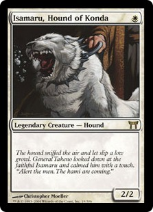 Isamaru, Hound of Konda [CHK]