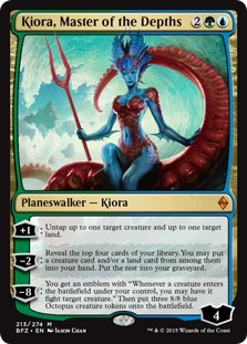 Kiora, Master of the Depths [BFZ]