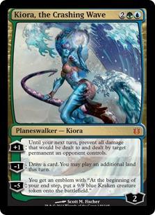 Kiora, the Crashing Wave [BNG]