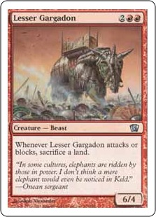 Lesser Gargadon [8ED]