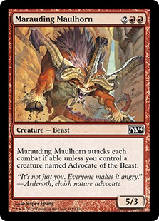 Marauding Maulhorn [M14]