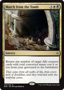 March from the Tomb [BFZ]