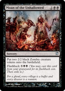 Moan of the Unhallowed [ISD]