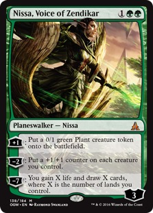 Nissa, Voice of Zendikar [OGW]