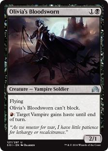 Olivia's Bloodsworn [SOI]