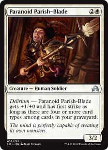 Paranoid Parish-Blade [SOI]