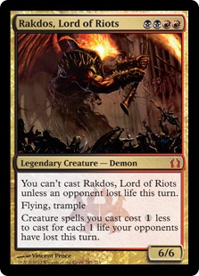 Budget Commander: Rakdos, Lord of Riots ($40)