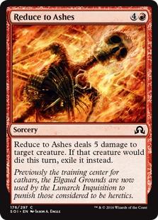 Reduce to Ashes [SOI]