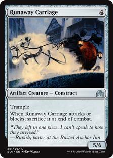Runaway Carriage [SOI]