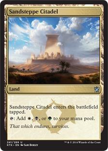 Sandsteppe Citadel [KTK]