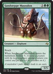 Sandsteppe Mastodon [FRF]