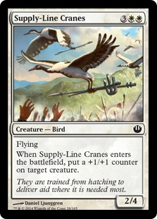 Supply-Line Cranes [JOU]