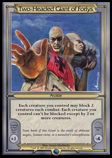 Two-Headed Giant of Foriys Avatar [VAN]