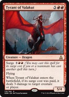 Tyrant of Valakut [OGW]