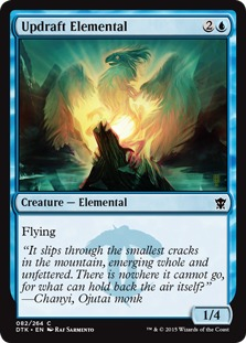 Updraft Elemental [DTK]